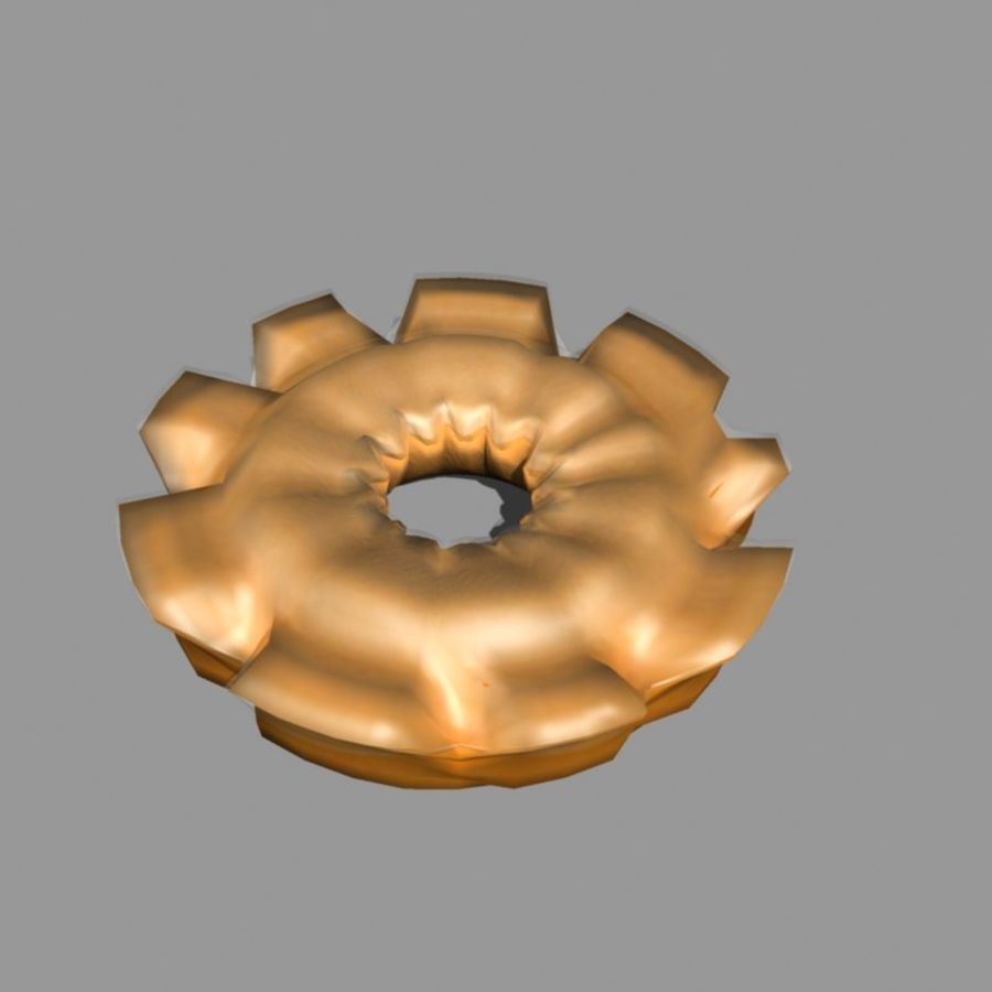 Donut_old 구식 royalty-free 3d model - Preview no. 2