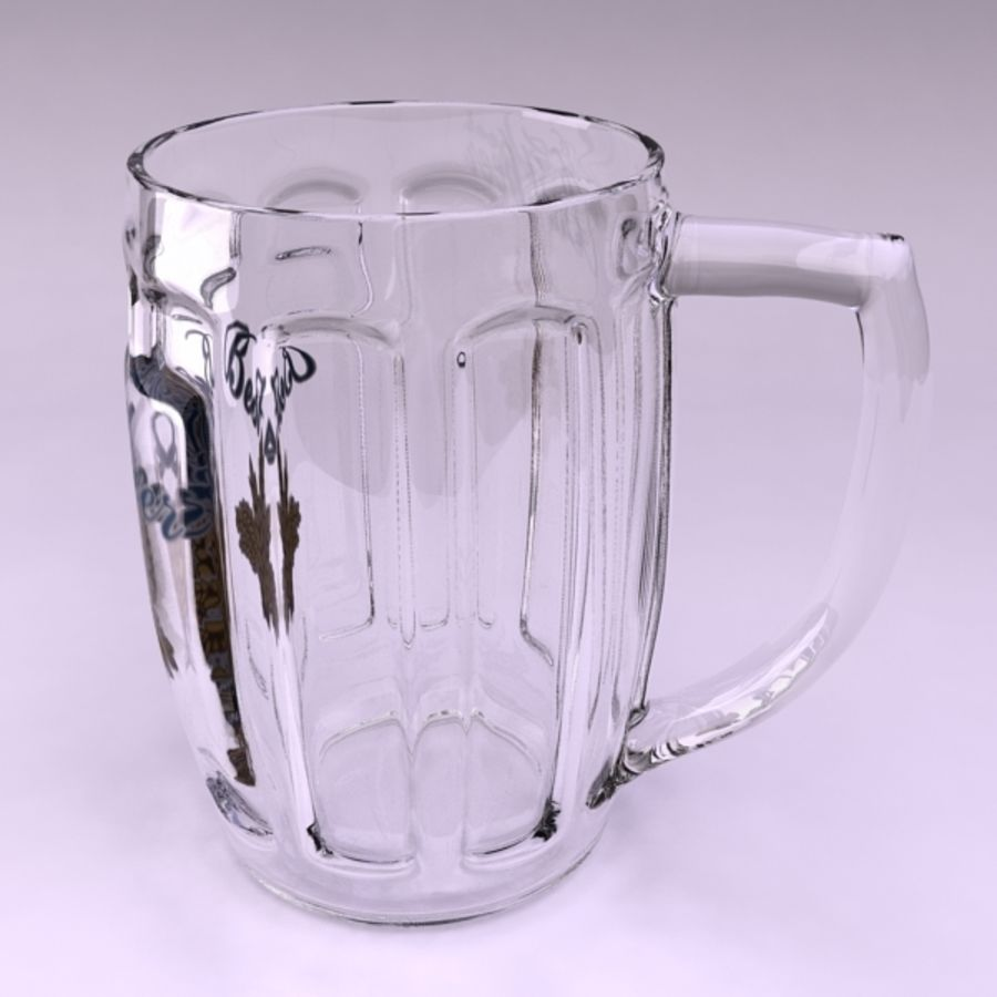 Pint royalty-free 3d model - Preview no. 5