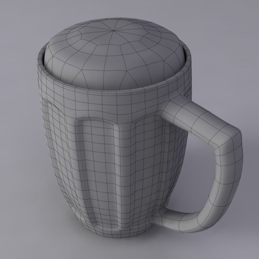 Pint royalty-free 3d model - Preview no. 9