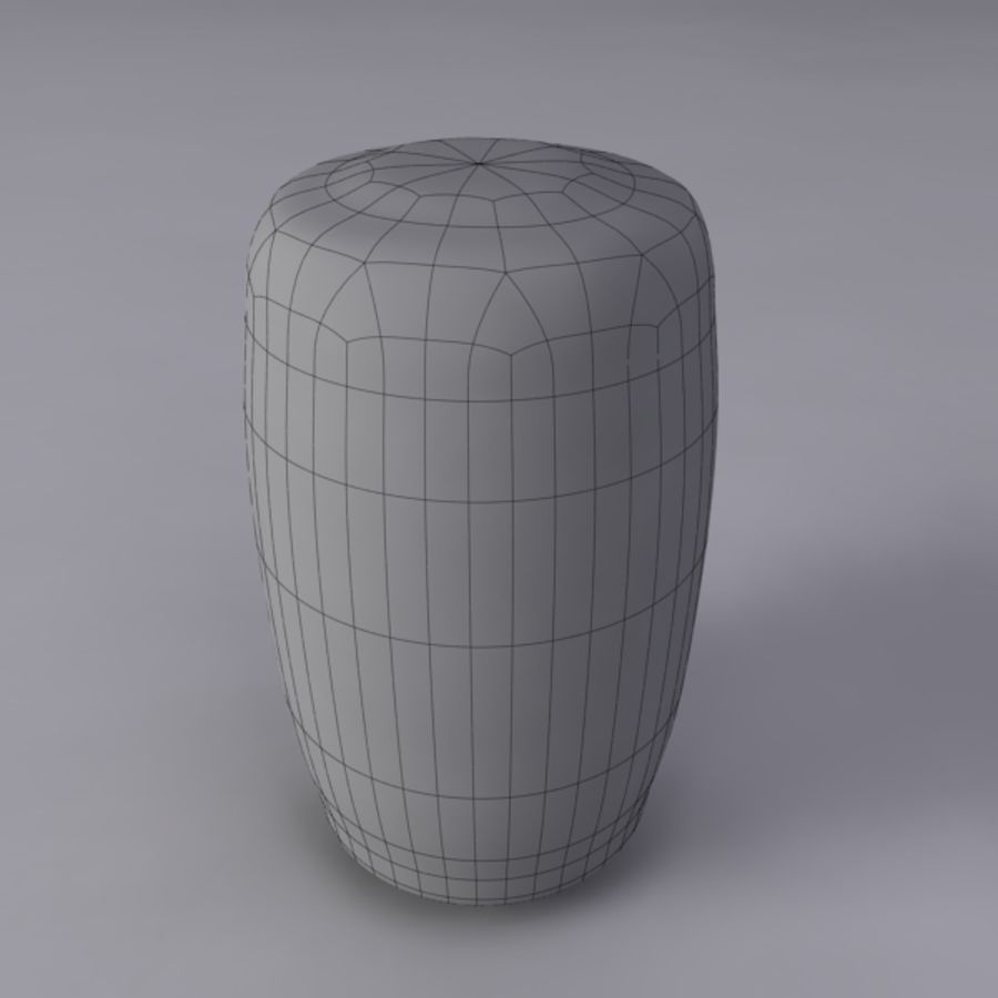 Pint royalty-free 3d model - Preview no. 12