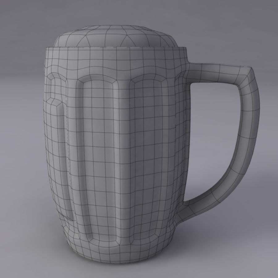 Pint royalty-free 3d model - Preview no. 11