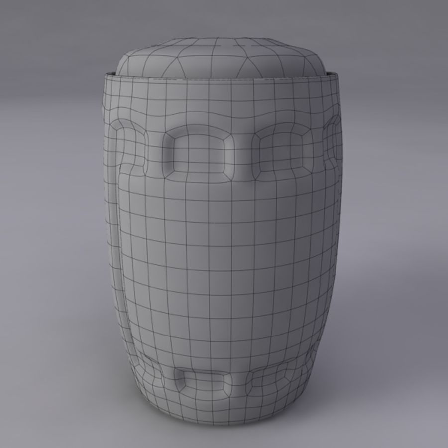 Pint royalty-free 3d model - Preview no. 10