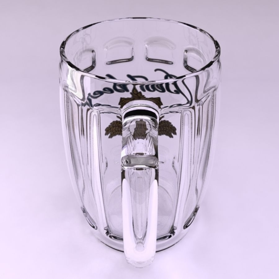 Pint royalty-free 3d model - Preview no. 8