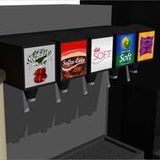Beverage / Drink Station 3d model