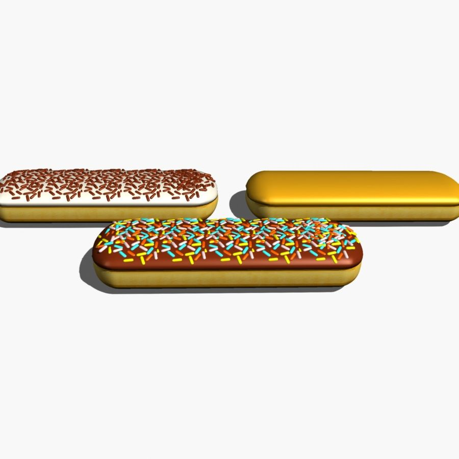 Donut_bar royalty-free 3d model - Preview no. 4
