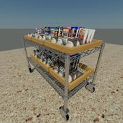 Metro Rack 3 3d model