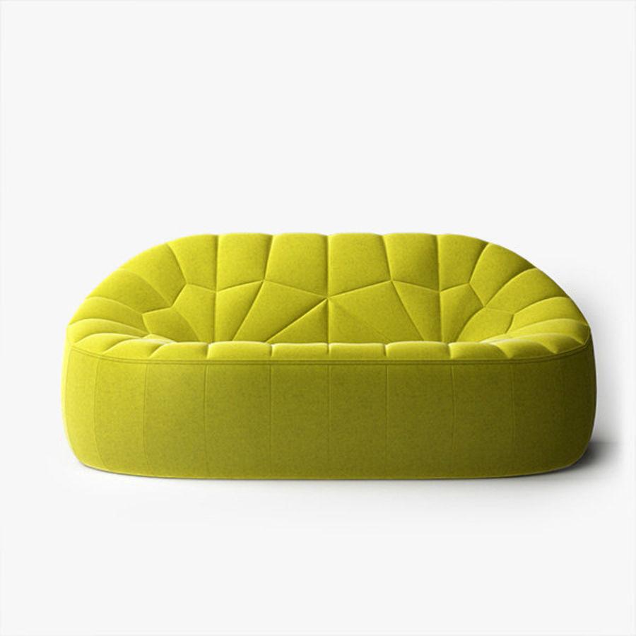 Peachy Ligne Roset Ottoman 2 Seater 3D Model 20 Max Fbx Obj Dailytribune Chair Design For Home Dailytribuneorg