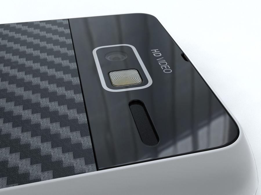 Motorola DROID RAZR M royalty-free 3d model - Preview no. 17