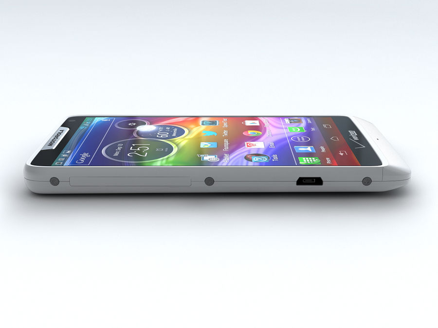 Motorola DROID RAZR M royalty-free 3d model - Preview no. 14