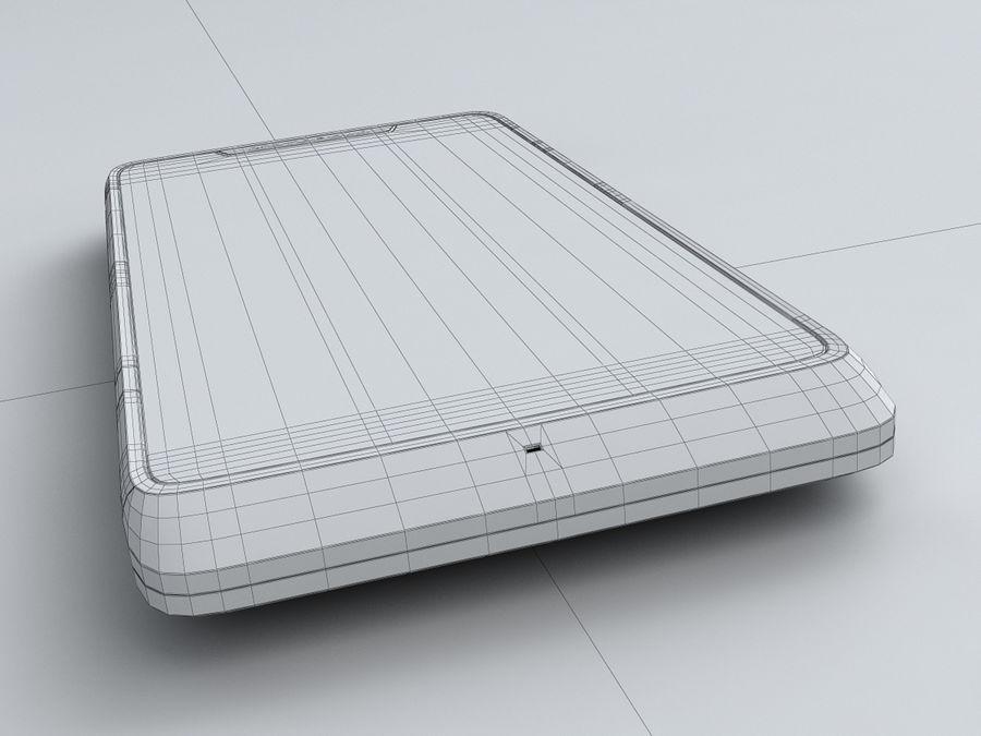 Motorola DROID RAZR M royalty-free 3d model - Preview no. 26