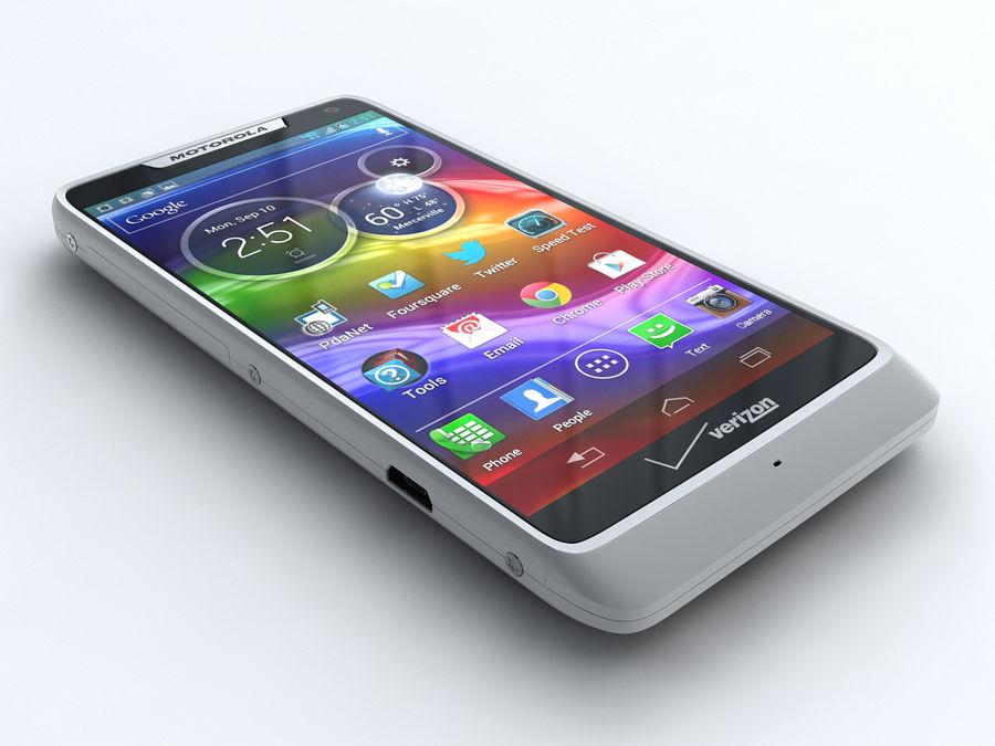 Motorola DROID RAZR M royalty-free 3d model - Preview no. 1