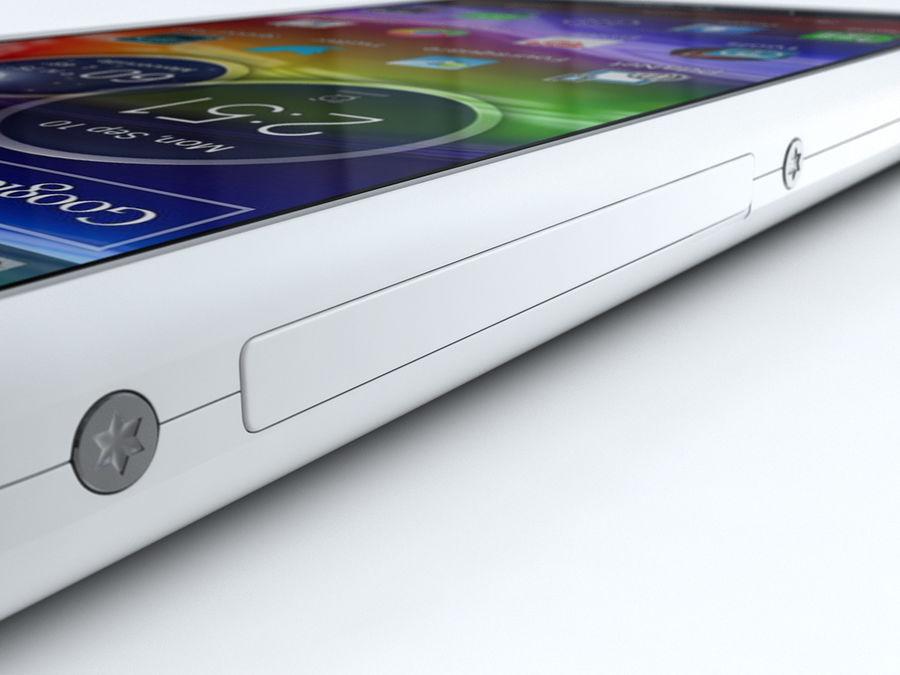 Motorola DROID RAZR M royalty-free 3d model - Preview no. 21