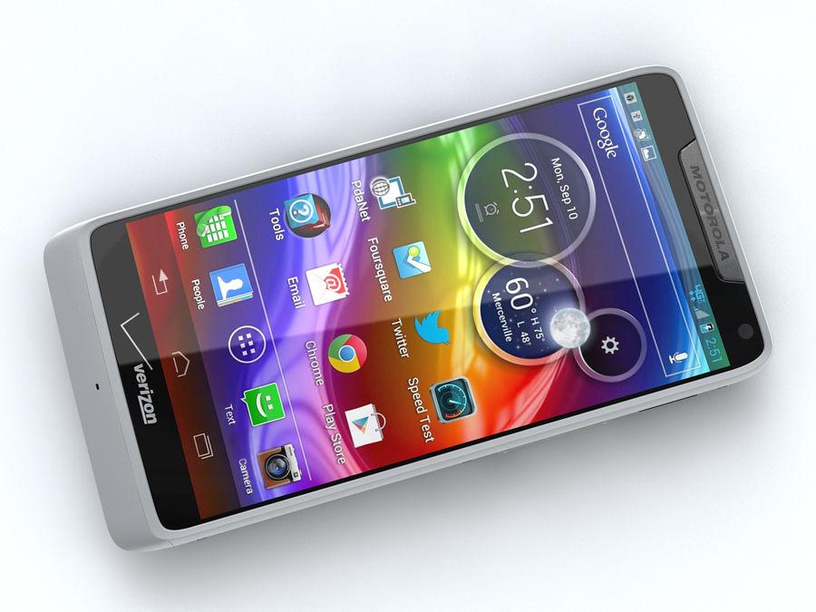Motorola DROID RAZR M royalty-free 3d model - Preview no. 11