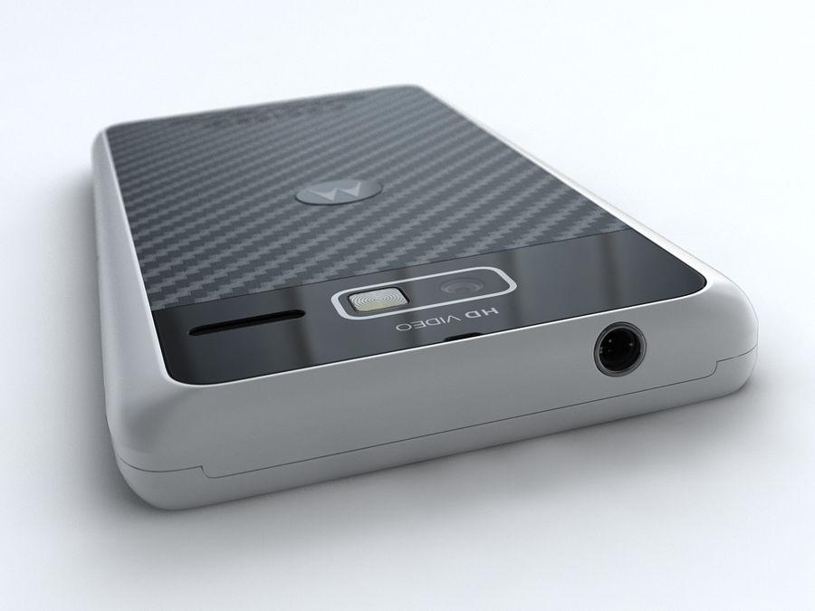 Motorola DROID RAZR M royalty-free 3d model - Preview no. 9