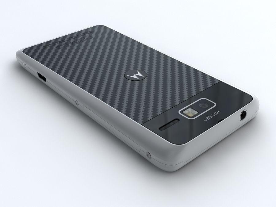Motorola DROID RAZR M royalty-free 3d model - Preview no. 3