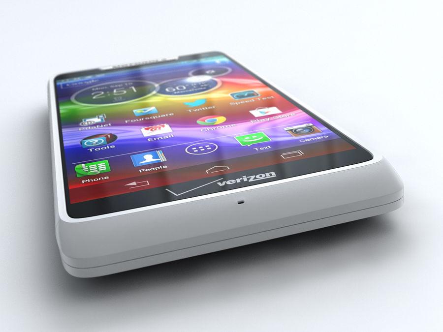 Motorola DROID RAZR M royalty-free 3d model - Preview no. 7