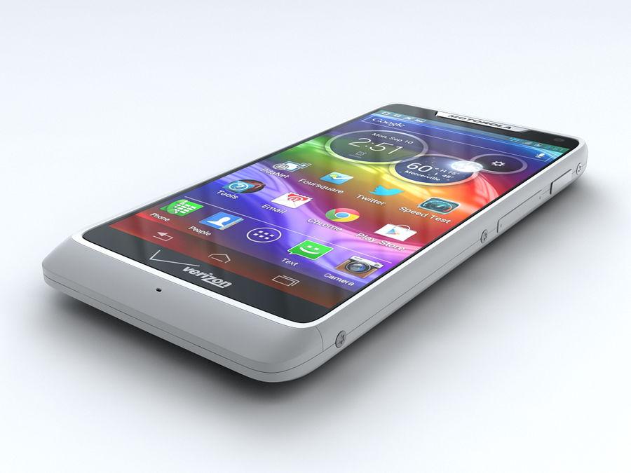 Motorola DROID RAZR M royalty-free 3d model - Preview no. 5