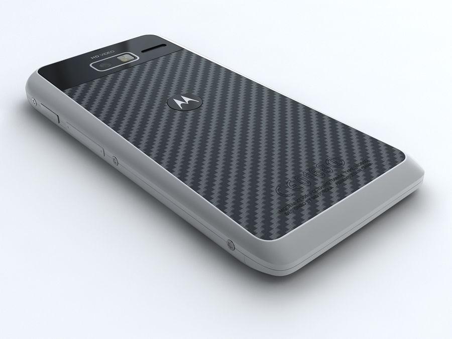 Motorola DROID RAZR M royalty-free 3d model - Preview no. 4