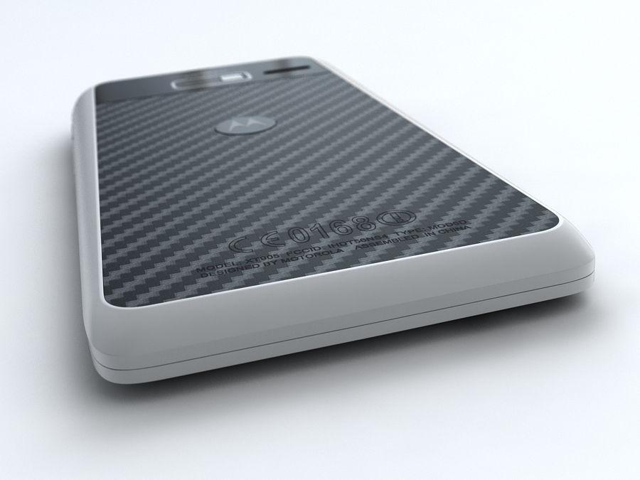 Motorola DROID RAZR M royalty-free 3d model - Preview no. 10