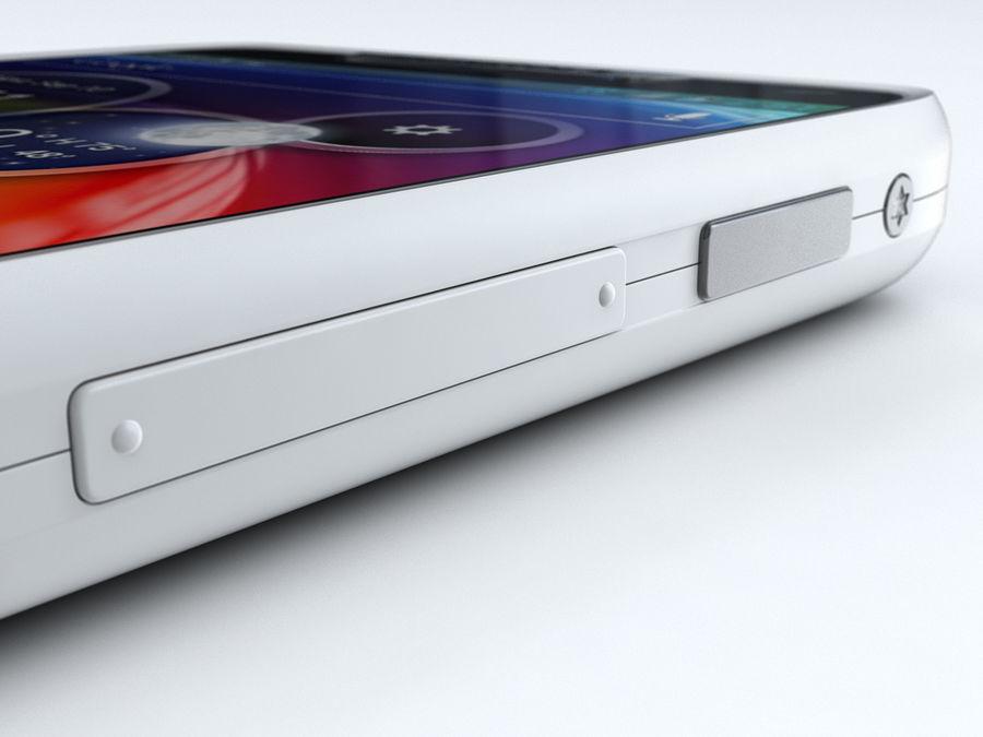 Motorola DROID RAZR M royalty-free 3d model - Preview no. 23