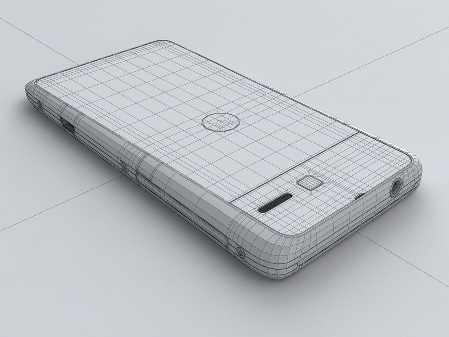Motorola DROID RAZR M royalty-free 3d model - Preview no. 25