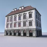 유럽 건축물 012 3d model