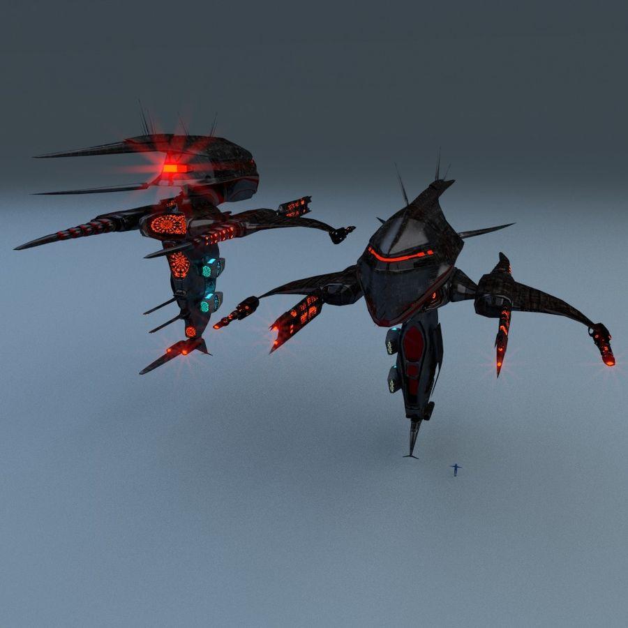 Alien royalty-free 3d model - Preview no. 1
