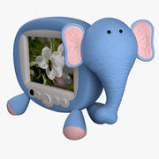 TV Elephant 3d model