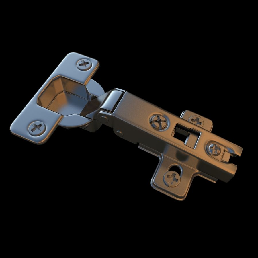 Magnificent Cabinet Hinge 3D Model 8 Obj Max Free3D Download Free Architecture Designs Scobabritishbridgeorg