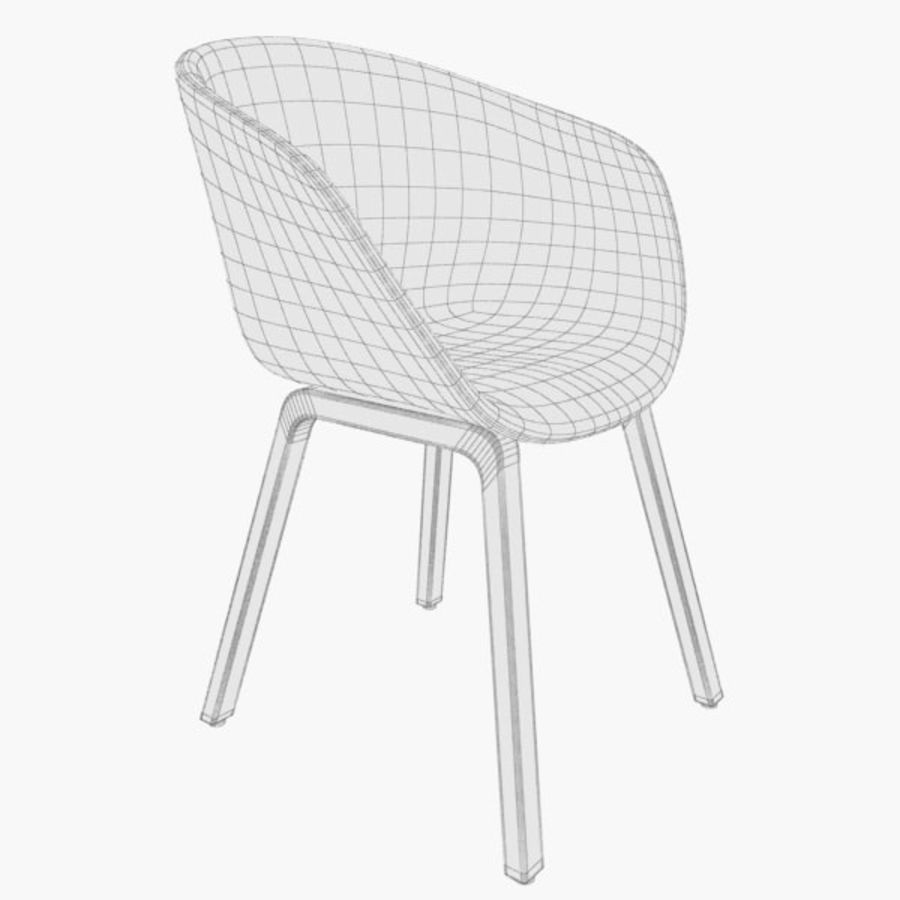 Hay Chair Aac23 Remix 133 3d Model 9 Max Free3d