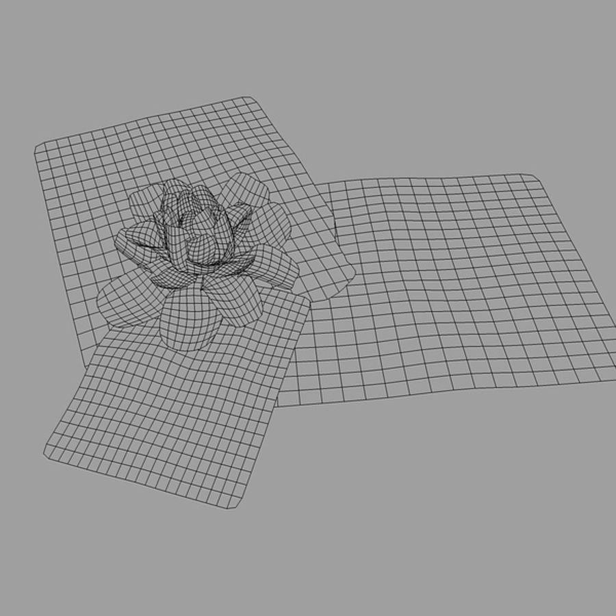 スイレン royalty-free 3d model - Preview no. 3