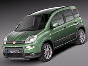Fiat Panda 4x4 2013 3d model
