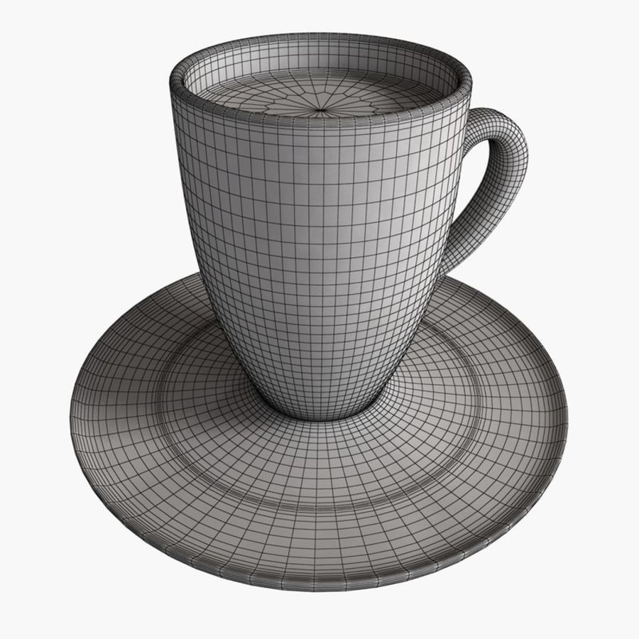 Coffee Art 2 royalty-free 3d model - Preview no. 5