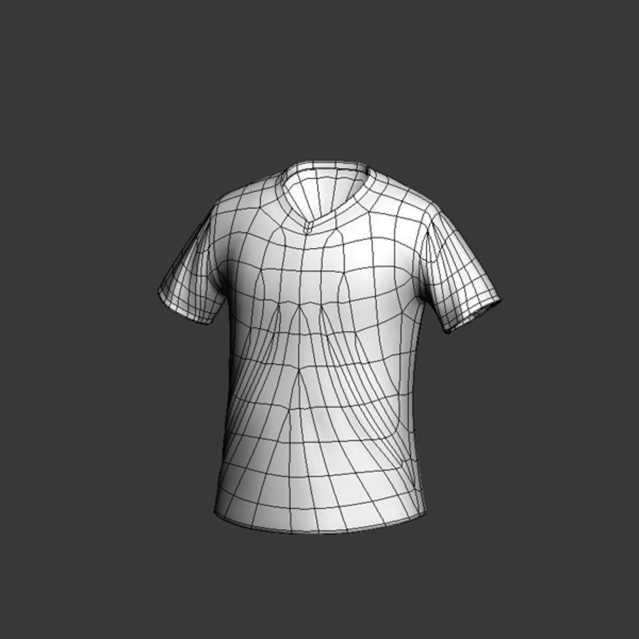 mu_ shirt royalty-free 3d model - Preview no. 5