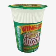 pot noodle 3d model