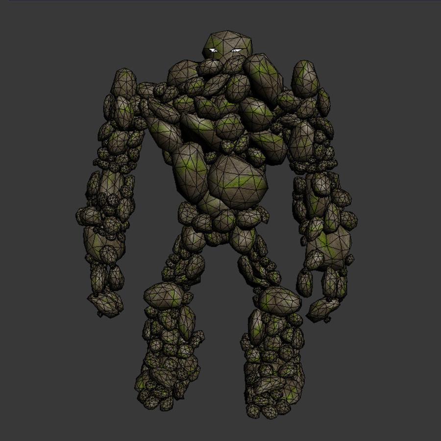 Rock Monster 3D Model $24 -  obj  max  fbx  3ds - Free3D