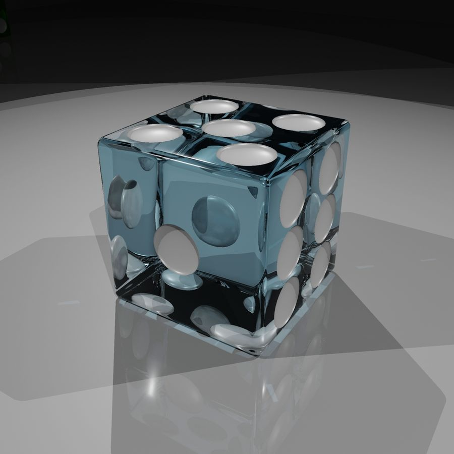 Dice 2.0 royalty-free 3d model - Preview no. 8