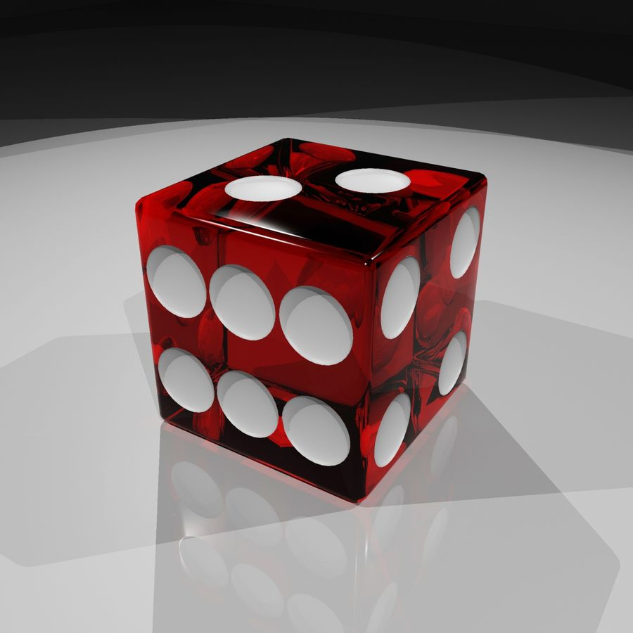 Dice 2.0 royalty-free 3d model - Preview no. 4