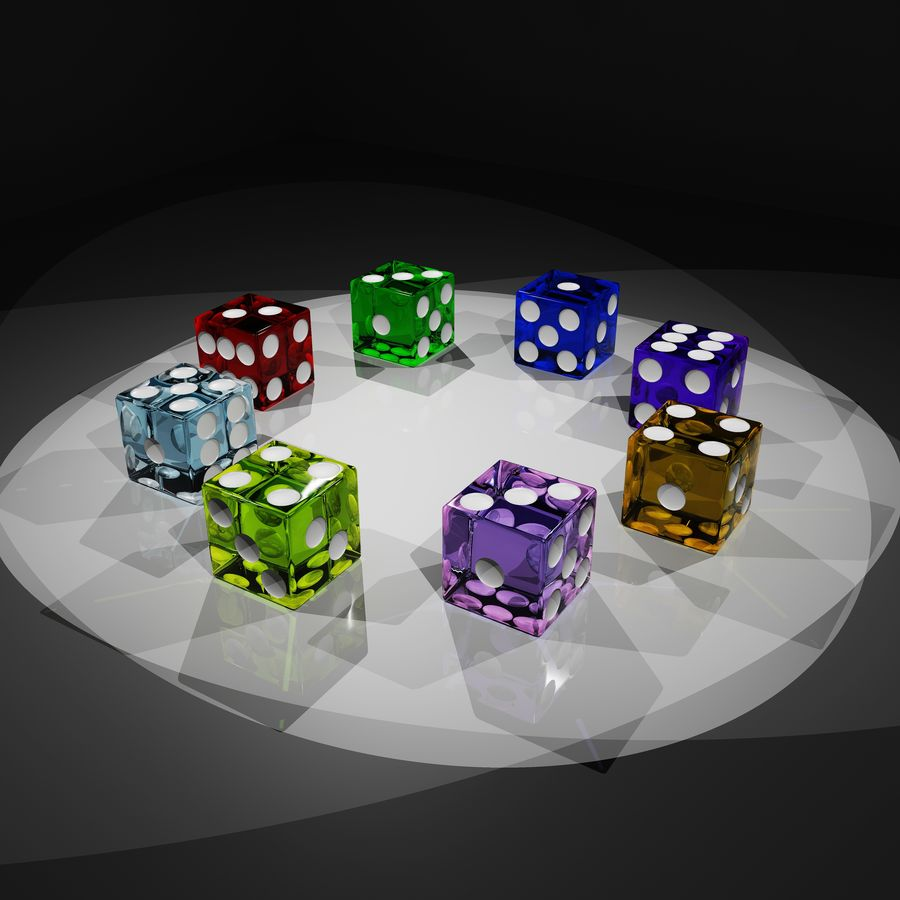 Dice 2.0 royalty-free 3d model - Preview no. 1