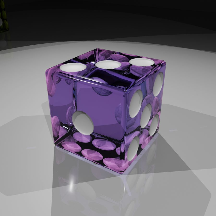 Dice 2.0 royalty-free 3d model - Preview no. 10