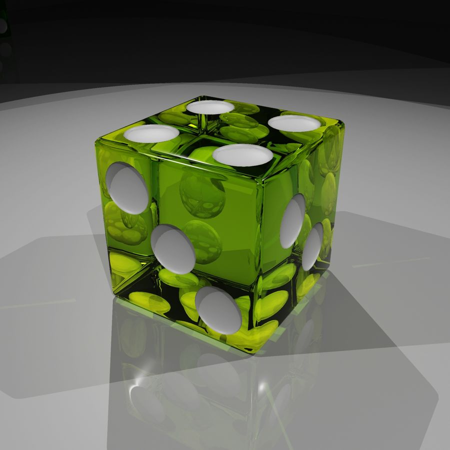 Dice 2.0 royalty-free 3d model - Preview no. 9