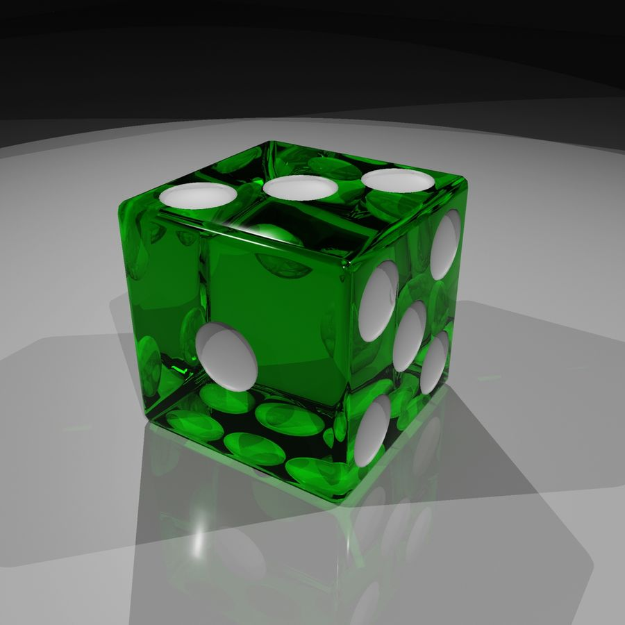 Dice 2.0 royalty-free 3d model - Preview no. 6