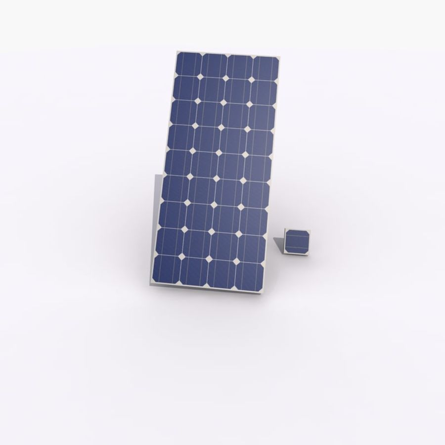 Solar Panel royalty-free 3d model - Preview no. 4