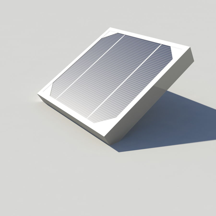 Solar Panel royalty-free 3d model - Preview no. 9