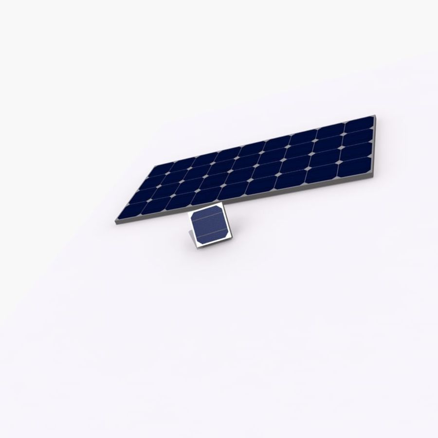 Solar Panel royalty-free 3d model - Preview no. 11