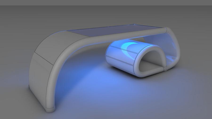 Tavolo per computer royalty-free 3d model - Preview no. 1
