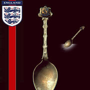 Scanned Spoon Collectible England-6 3d model