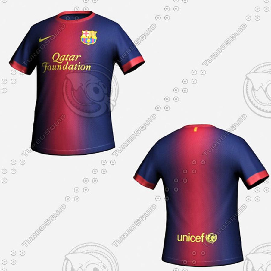 8f30716da Barcelona  Shirt 3D Model  19 - .max .obj .fbx .3ds .oth - Free3D