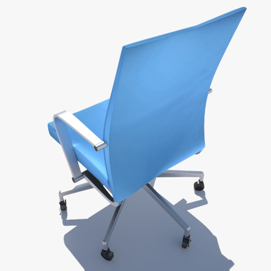 Office Chair royalty-free 3d model - Preview no. 3
