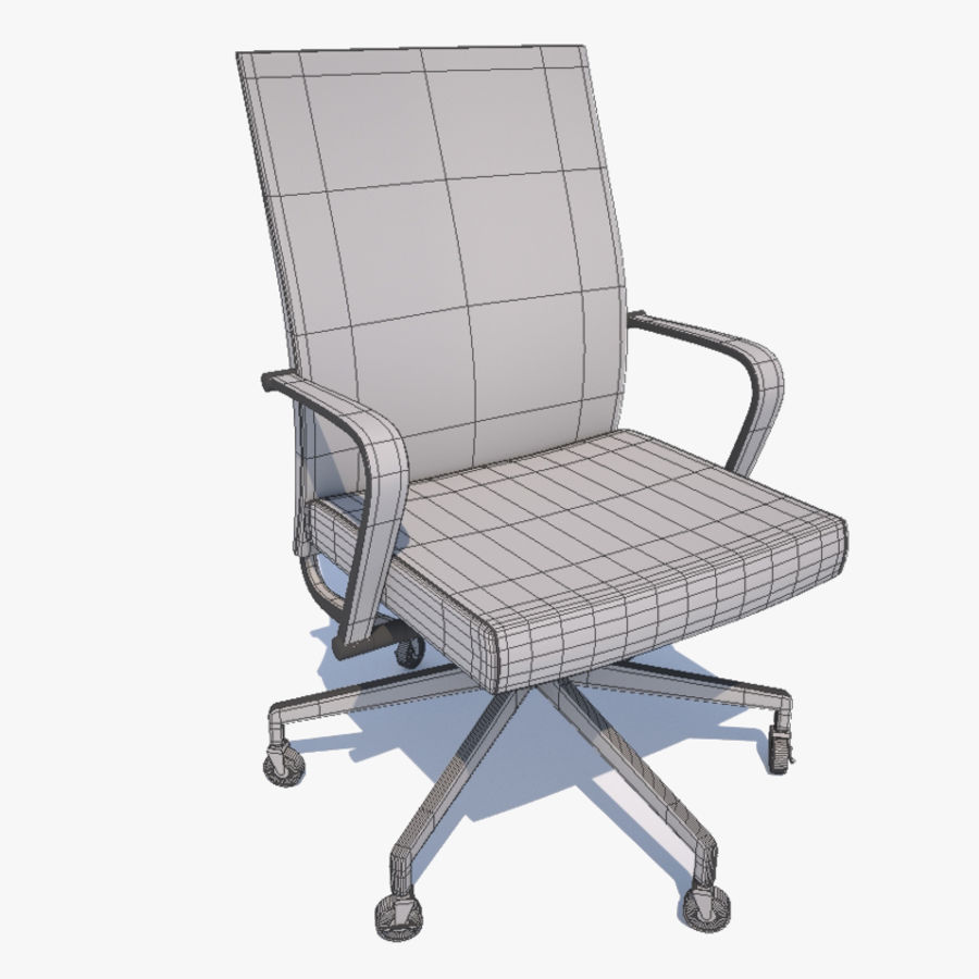 Office Chair royalty-free 3d model - Preview no. 8
